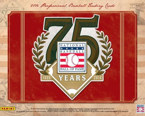 Panini America 2014 Hall of Fame 75th Anniversary Baseball Main