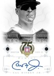 Panini America 2014 Hall of Fame 75th Anniversary Baseball Ripken