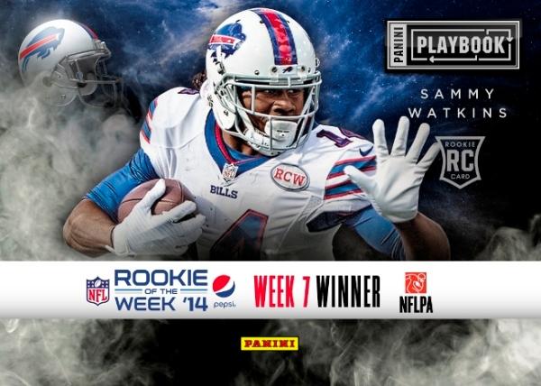 2014 Pepsi NFL Rookie of the Week Week 7 Winner Watkins