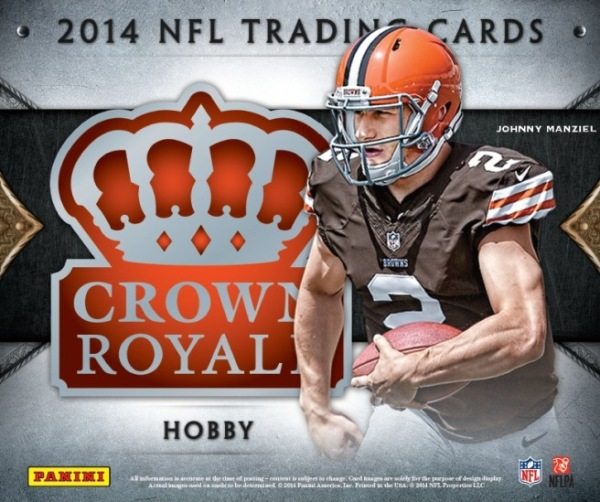 Panini America 2014 Crown Royale Football Hobby Main