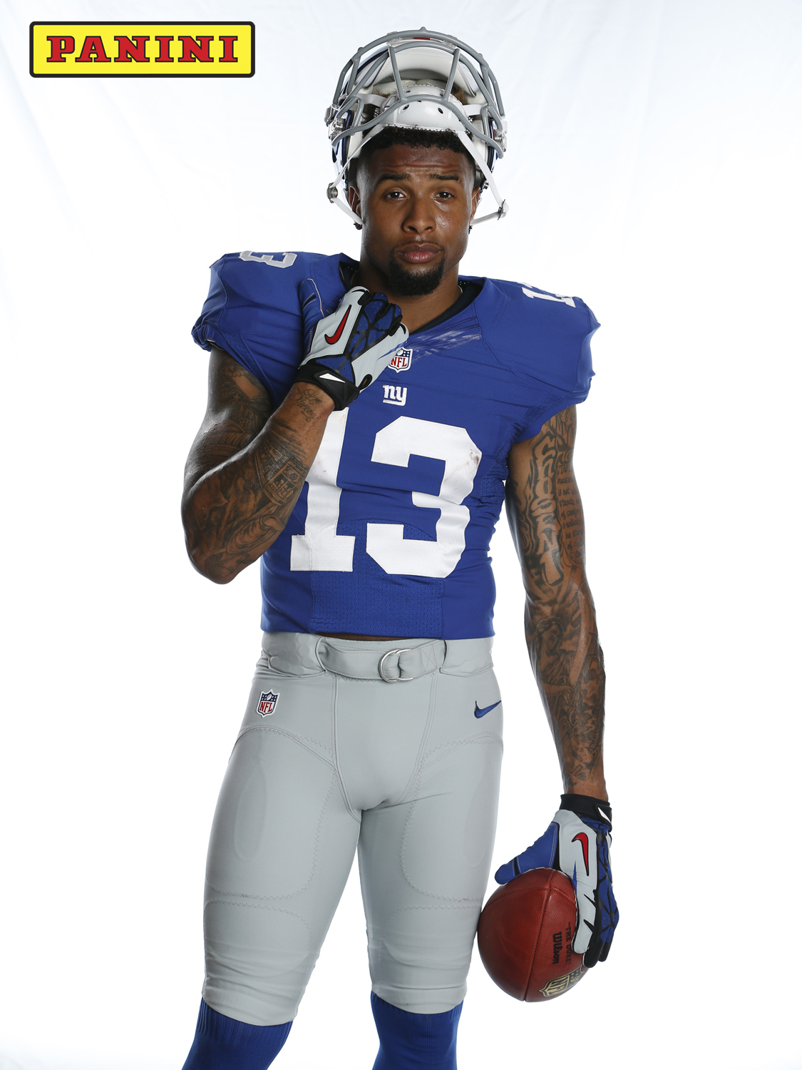 The Panini America NFLPA Rookie Premiere Recall: Giants WR Odell Beckham Jr. | The Official ...