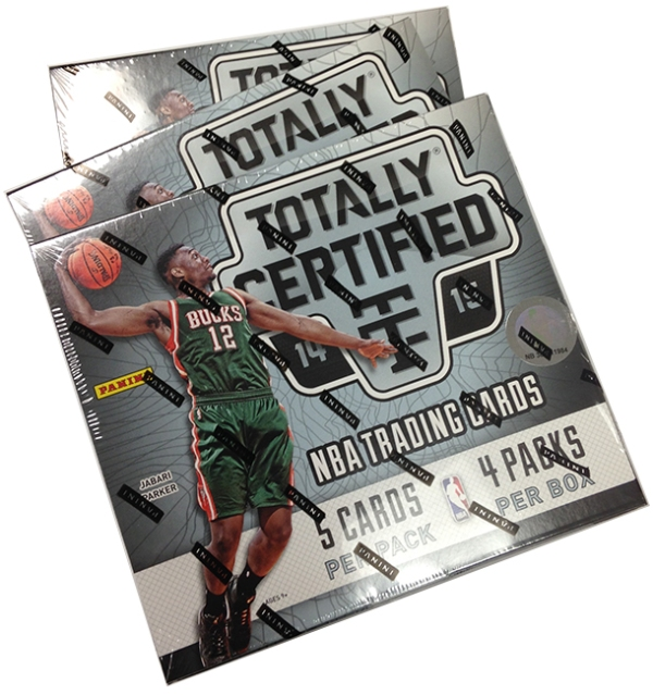 Panini America 2014-15 Totally Certified Basketball Teaser (1)