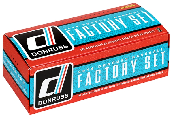 Panini America 2014 Donruss Baseball Factory Set Main