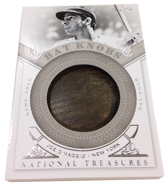 Panini America 2014 National Treasures Baseball Bat Knobs (3)