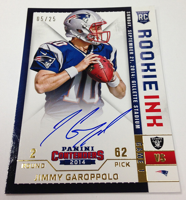 Sports Cards Plus Store Blog: 2014 Panini CONTENDERS FOOTBALL ($130