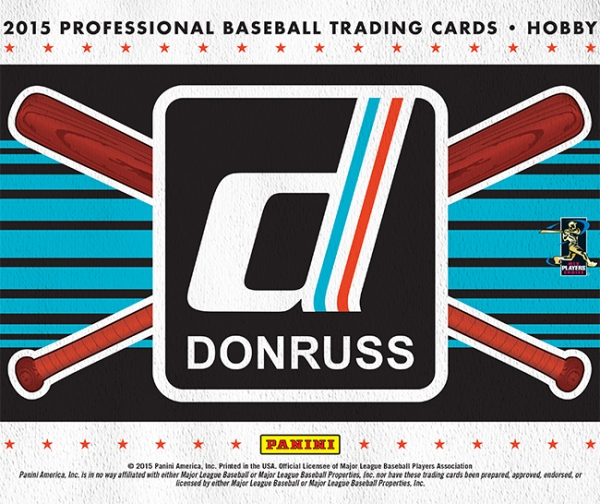 Panini America 2015 Donruss Baseball Main