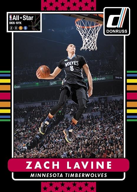 Panini America 2014-15 Donruss Basketball Trade-In Zach LaVine