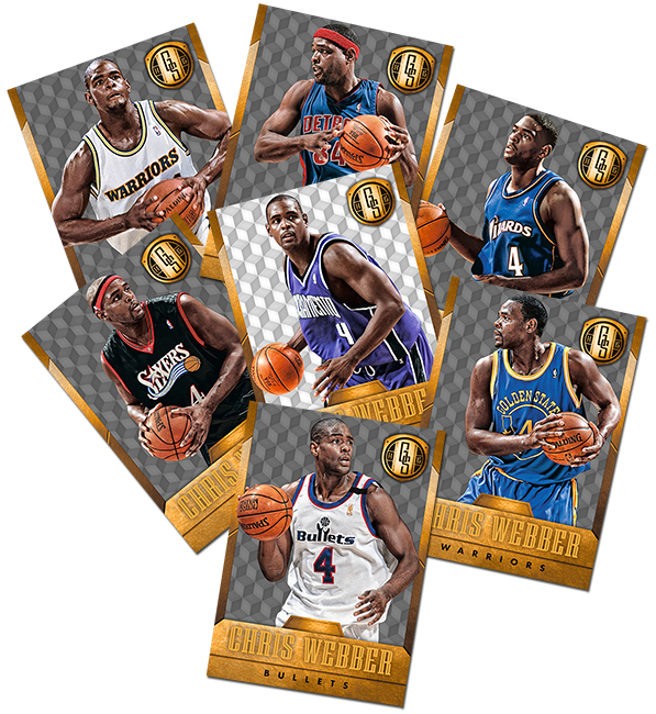 Panini America 2014-15 Gold Standard Basketball Base Variations