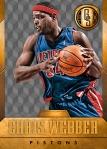 Panini America 2014-15 Gold Standard Basketball Veteran Variations (10e)