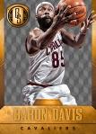 Panini America 2014-15 Gold Standard Basketball Veteran Variations (6d)