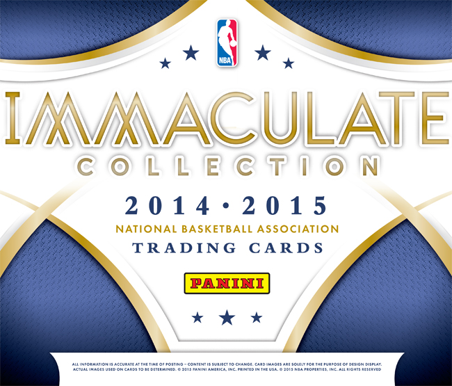 Panini America 2014-15 Immaculate Basketball Main