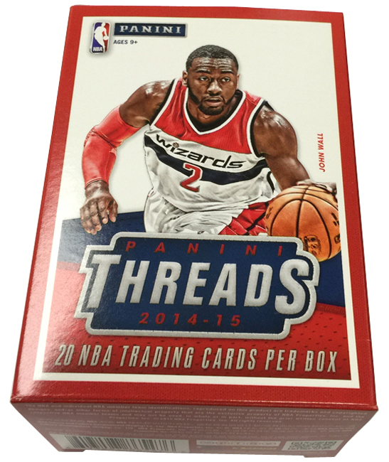 Panini America 2014-15 Threads Basketball Blaster RCs (1)