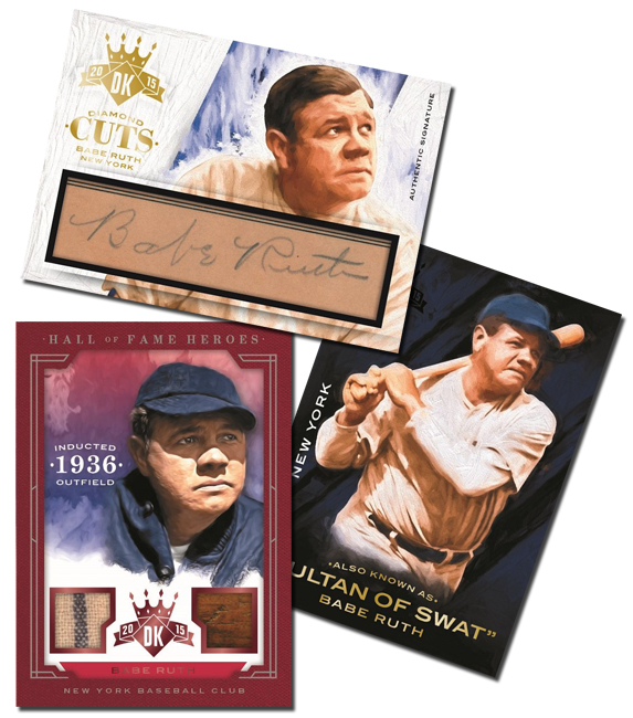 Panini America 2015 Diamond Kings Babe Ruth Main