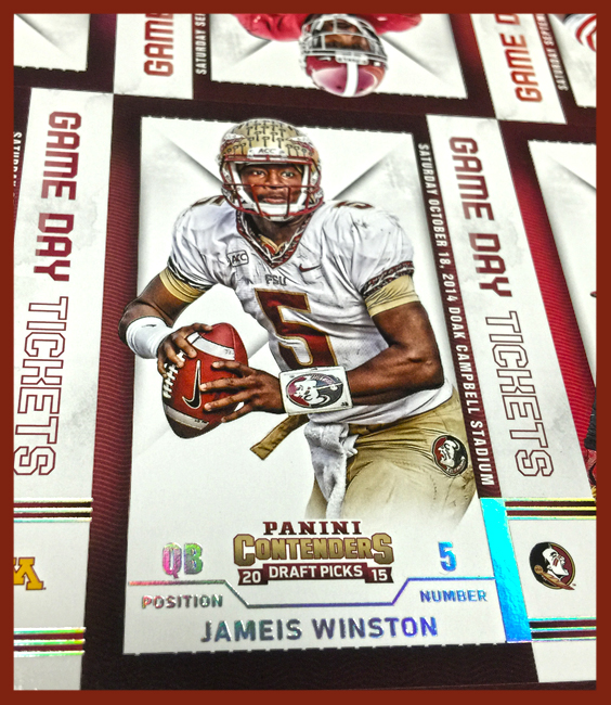 Panini America 2015 Contenders Draft Picks Football Uncut (46)
