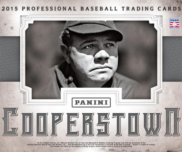 Panini America 2015 Cooperstown Baseball Main