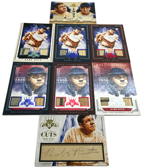 Panini America 2015 Diamond Kings Baseball Babe Ruth (17)