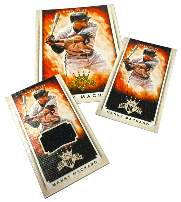 Panini America 2015 Diamond Kings Baseball Mini Tease (1)