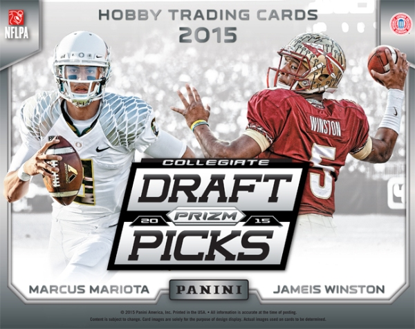 Panini America 2015 Prizm Collegiate Draft Picks Football Main