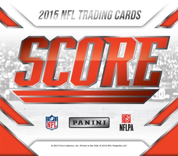 Panini America 2015 Score Football Main