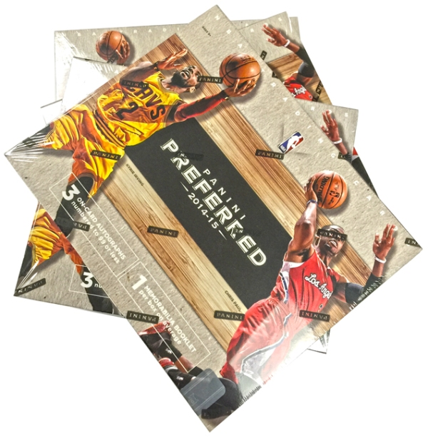 Panini America 2014-15 Preferred Basketball Teaser (1)