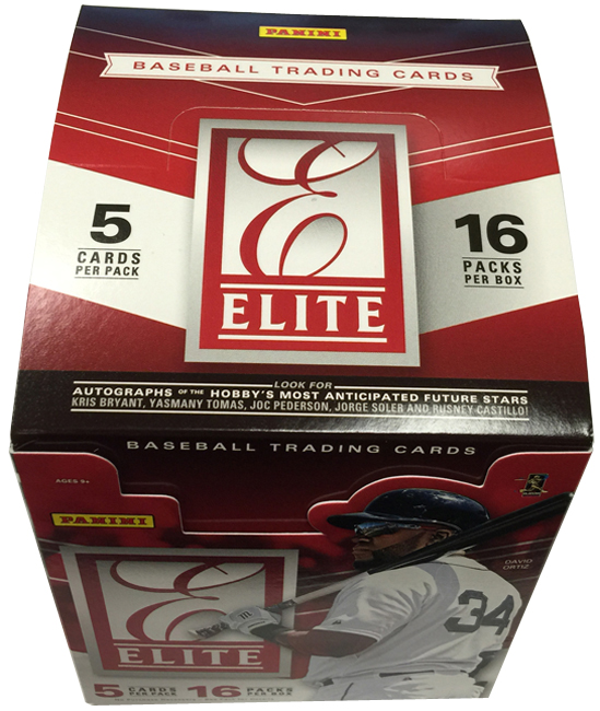 Panini America 2015 Elite Baseball QC (1)