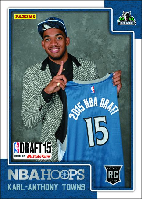 Panini America 2015 NBA Draft Hoops Reveal Towns 2 BLOG