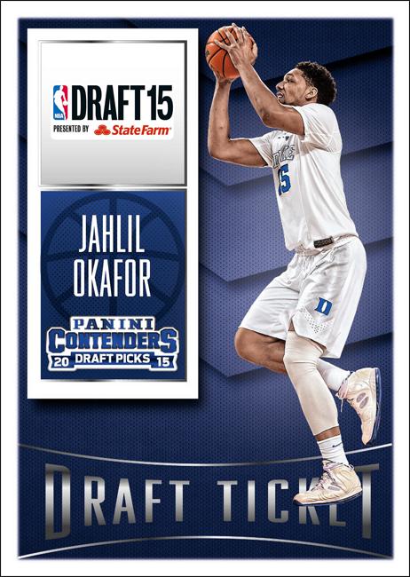 Panini America 2015 NBA Draft Jahlil Okafor