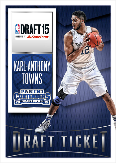 Panini America 2015 NBA Draft Karl-Anthony Towns