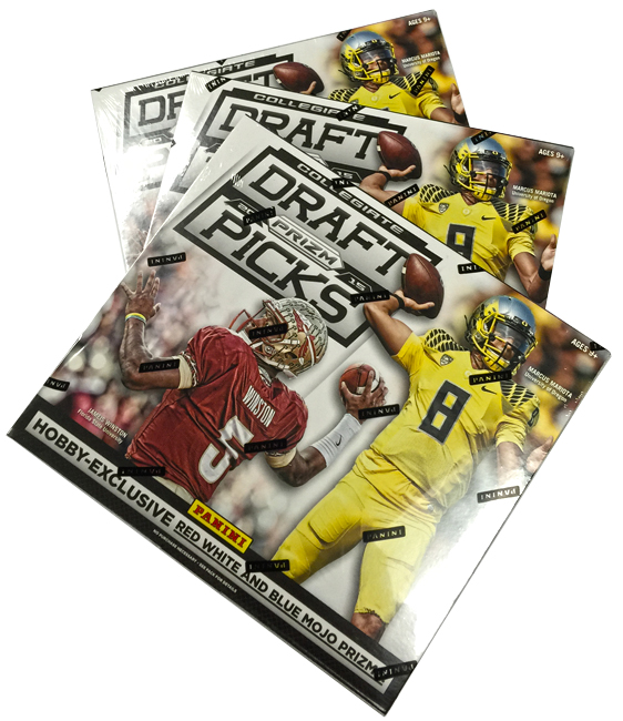 Panini America 2015 Prizm Collegiate Draft Picks Football Teaser (1)