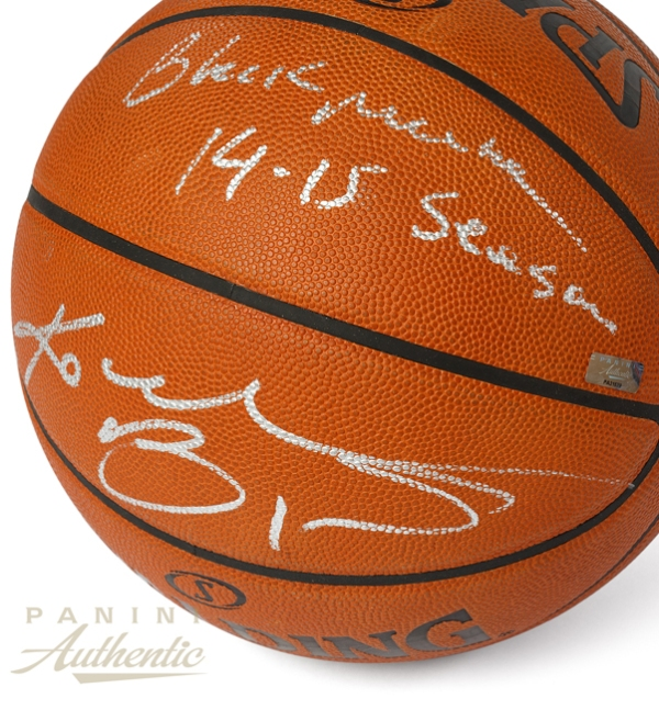 Panini Authentic Kobe Game Ball Main