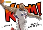 Panini America 2014-15 Excalibur Basketball Kaboom Blake Griffin