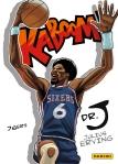 Panini America 2014-15 Excalibur Basketball Kaboom Julius Erving