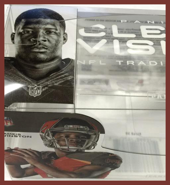 Panini America 2015 Clear Vision Packout Peek Main