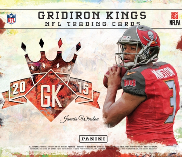 Panini America 2015 Gridiron Kings Football Main
