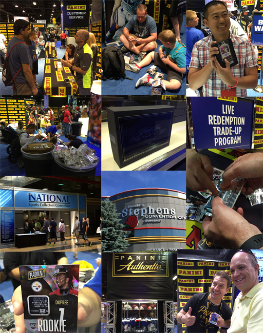 Panini America 2015 National Sports Collectors Convention Day One Main