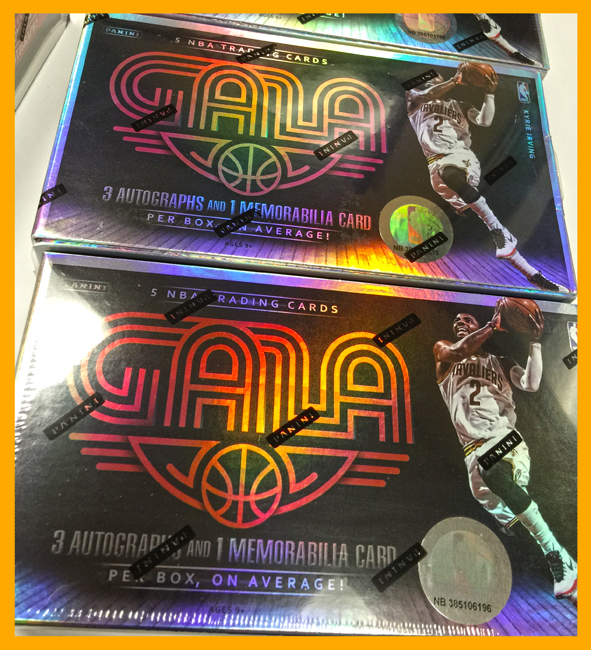 Panini America 2014-15 Gala Basketball Teaser Box One2
