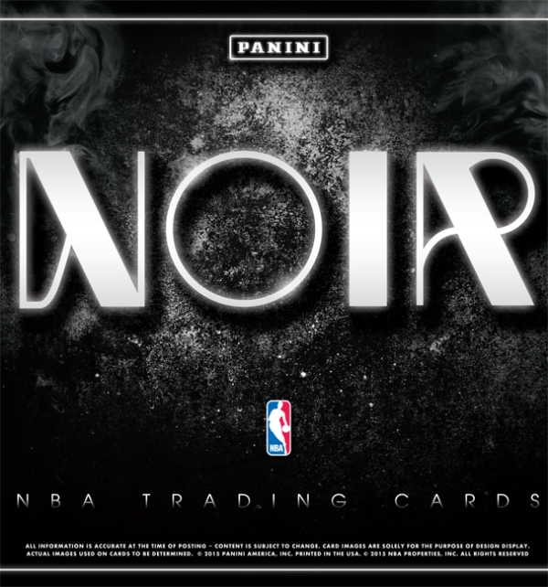 Panini America 2014-15 Noir Basketball Main