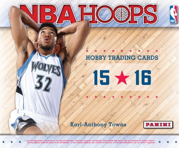 Panini America 2015-16 NBA Hoops Main