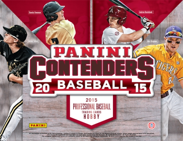 Panini America 2015 Contenders Baseball Main