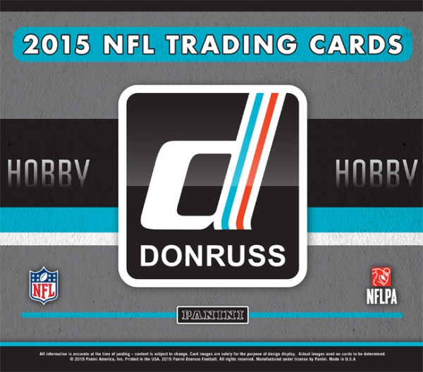 Panini America 2015 Donruss Football Main