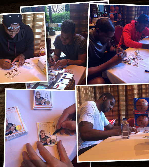 Panini America USA Basketball Signing August 10 Main