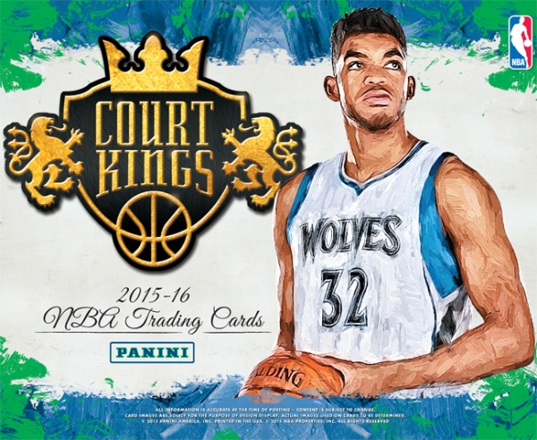 Panini America 2015-16 Court Kings Basketball Main