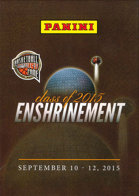 Panini America 2015 Basketball Hall of Fame Main