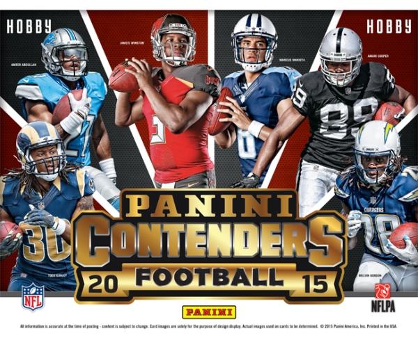 Panini America 2015 Contenders Football Main