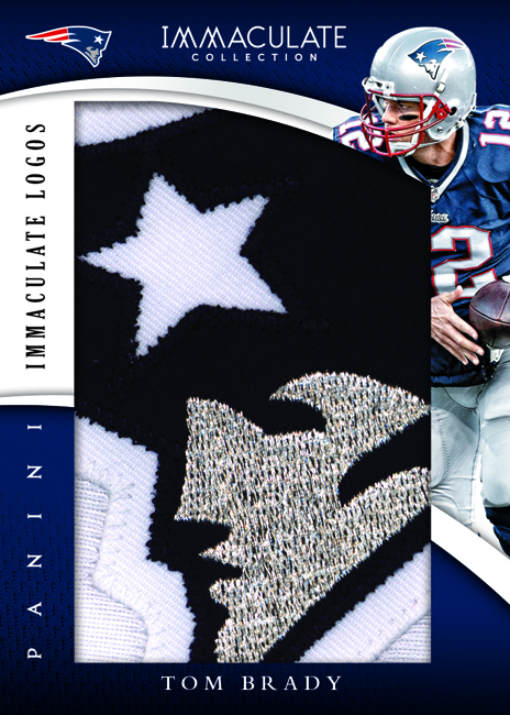 Panini America 2015 Immaculate Football Tom Brady