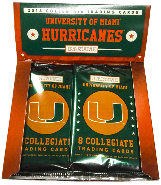 Panini America 2015 University of Miami Set27
