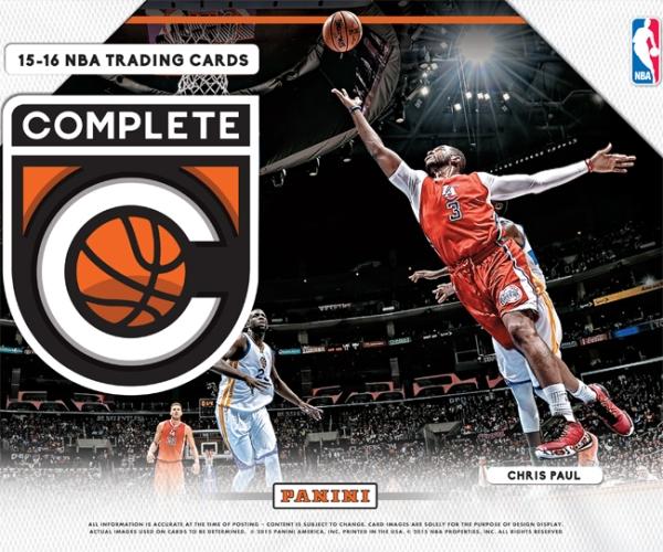 Panini America 2015-16 Complete Basketball Main