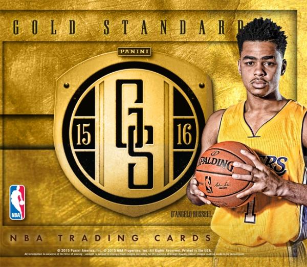 Panini America 2015-16 Gold Standard Basketball Main