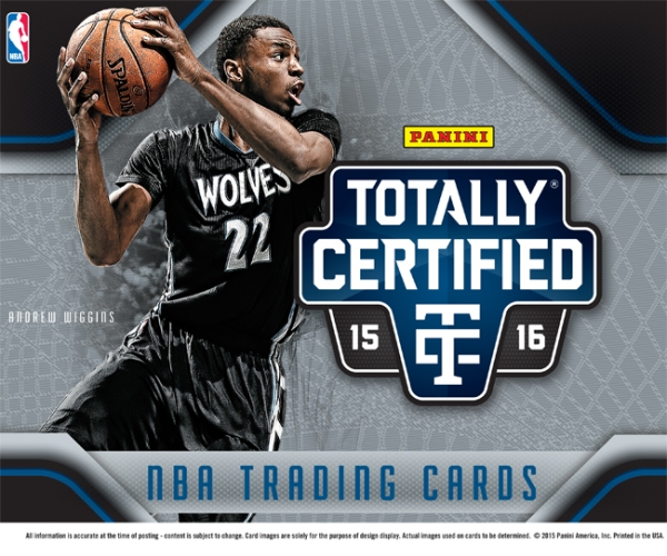 Panini America 2015-16 Totally Certified Basketball PIS Main
