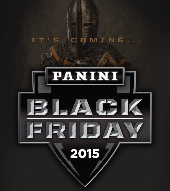 Panini America 2015 Black Friday Main